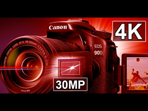 Canon 4k Dslr >> Canon 90D - 4K Video 30 MP KING of VLOGGING Cameras - YouTube