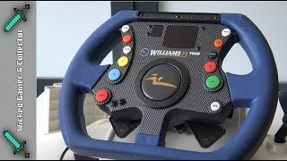 Xbox Classic - F1 Williams Team Racing Wheel Unboxing & Review