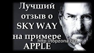 Лучший отзыв о Sky Way, на примере Apple. Заработок в интернете. Инвестиции Новый транспорт.