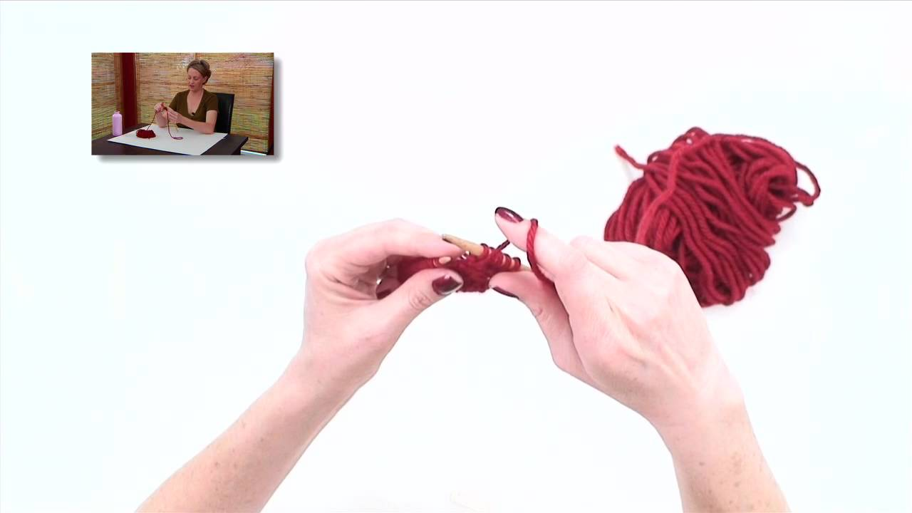 Knitting Help - Purl Front and Back, or pfb - YouTube
