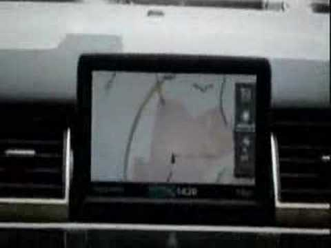 Funny female satellite navigation