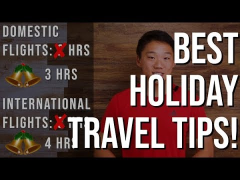 Best Holiday Travel Tips For Surviving Busy Airports