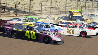 NASCAR Racing Crashes #3 | BeamNG Drive