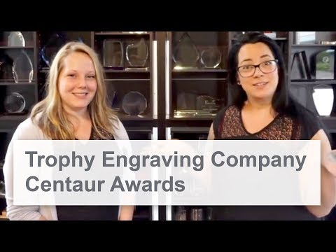 Centaur Awards | Trophy Engraving Business | Speedy 300 Laser