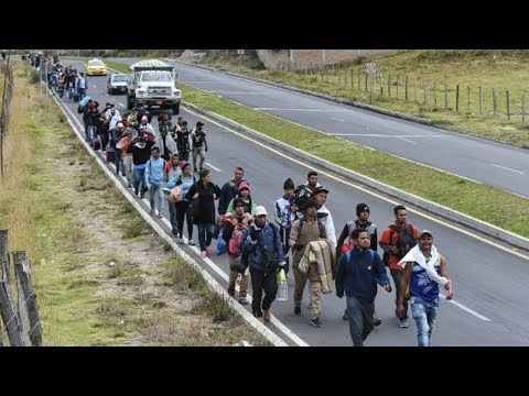 Countries Alarmed Over Venezuelan Migration Forget History of Venezuela's Acceptance of Migrants