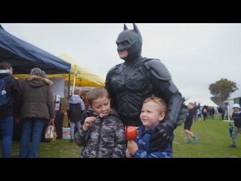 Wellington's charity Batman ignored by Facebook after page removed