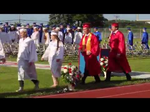 Pittston Area Class of 2016 graduation - June 9, 2016