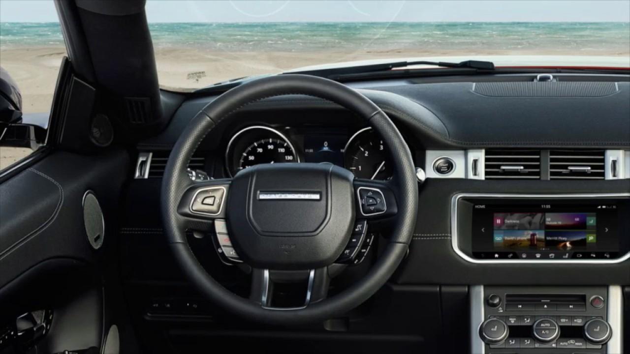 Range Rover Usa >> 2017 Range Rover Evoque Extra Features Land Rover Usa Youtube