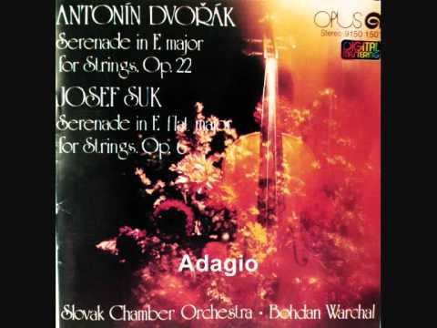 Josef Suk Serenade in E flat major for Strings Op.6 (Complete) for Addi