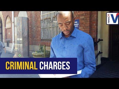 DA leader lays criminal charges over the  Al Bashir matter