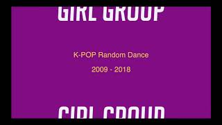 "K-POP Random Dance ""Girl Group"" 2009-1018"