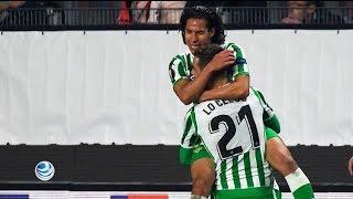 Diego Lainez debuta con gol en la Europa League