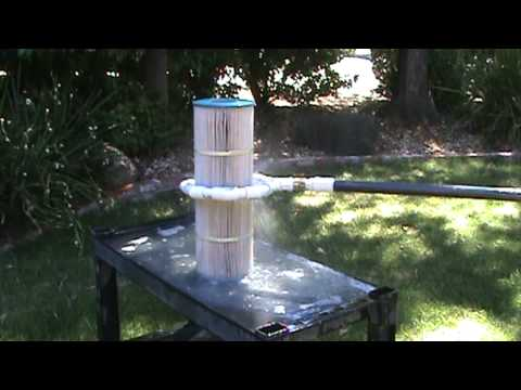Torus Swimming Pool And Hot Tub Filter Cartridge Cleaner General View Youtube