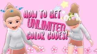 How To Get UNLIMITED Color Codes on Hotel Hideaway!