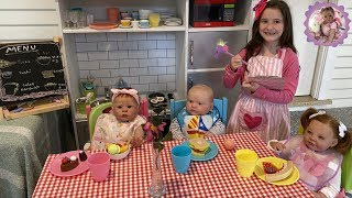 ALIYAH'S REBORN CAFE for TODDLERS (Fun Friday)