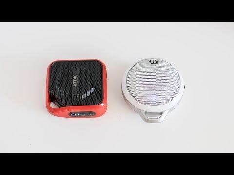 TDK A12 TREK Micro vs. JBL Micro Wireless - best ultraportable speakers?