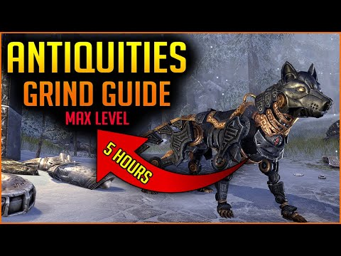 🔴Antiquities GRIND GUIDE🔴 For Scrying & Excavation - Greymoor Chapter Elder Scrolls Online ESO