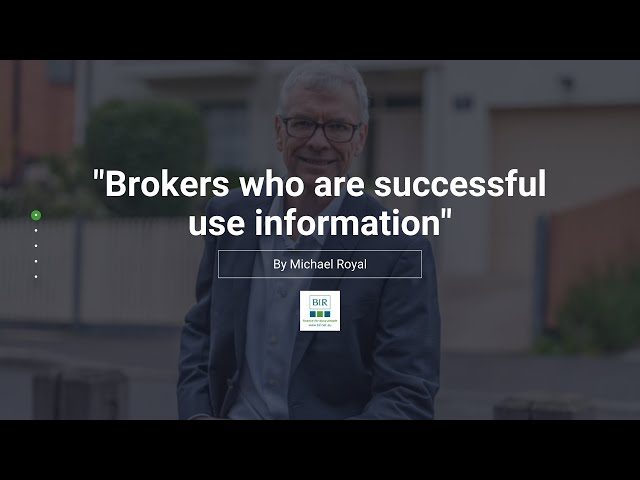 Brokers who are successful use information | BIR Solutions