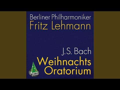 Christmas Oratorio, Bwv 248 Pt. 2: So Recht, Ihr Engel