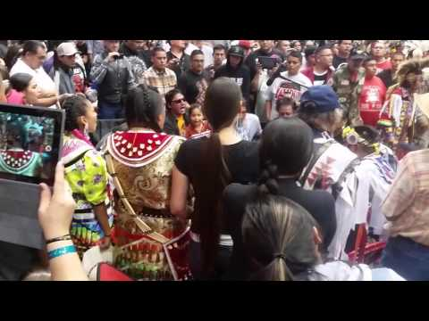 Whistle Grand Entry At Black Hills Pow Wow 2015