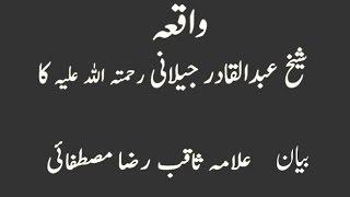 Beautiful bayan by Allama Peerzada Saqib Raza Mustafai (short clip)