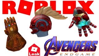 [LEAK] Roblox Avengers Event + ALL PRIZES ARTHRO?!?