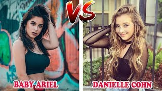 Baby Ariel Vs Danielle Cohn (Battle Musers) Musically Compilation 2018