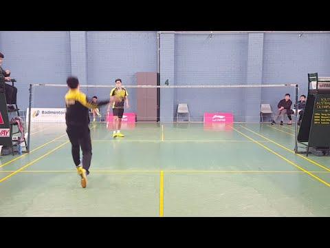 2017 National U19 Badminton Championship Semi Finals 1