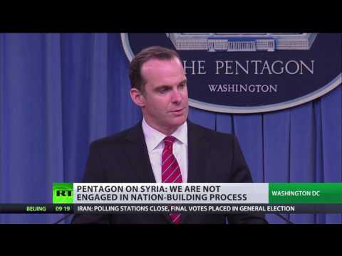 No govt in Syria for us to co-operate with - Pentagon