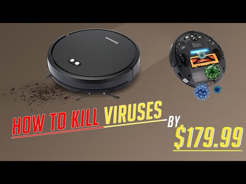 How to Kill Viruses with Upgrade Alfawise V8S Max Vacuum Cleaner + UV Sterilization?