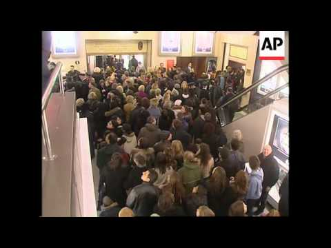 Jennifer Love Hewitt opens the Harrods sale in London thumbnail