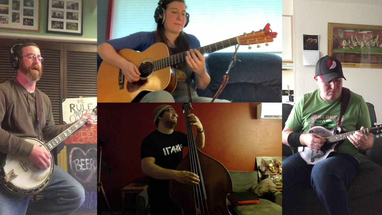 Ween - Bananas and Blow: A Quarantine Cover by The Student Loan Stringband