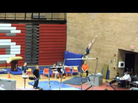 Emily Carey Level 9~Northeast Gymnastics Academy~2015 Pennsylvania State Championships~Bars