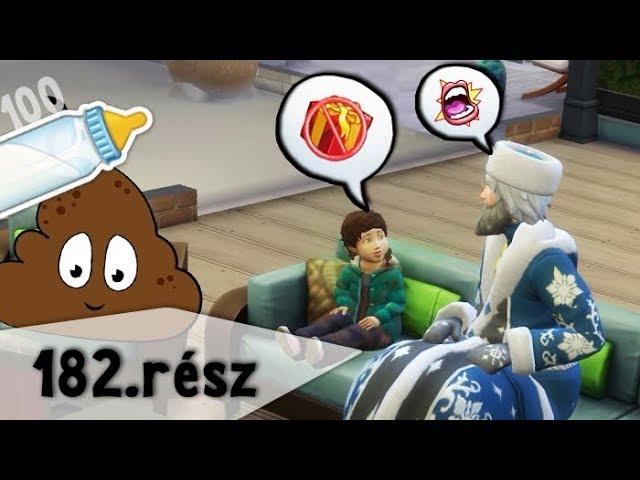 A Gonosz Télapó :/ - 100 Baba Kihívás - The Sims 4 - 182. rész