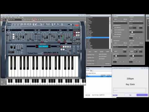 Java Music Generator on vst plugin Bruno 205