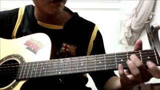"""Hướng dẫn guitar """" Yêu Em Nhưng Không Với Tới """" - Bùi Vĩnh Phúc ( Hot Bot Kẹo Kéo )"""