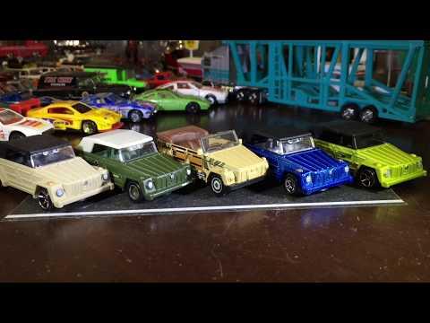 Cracking Open DLM - Hot Wheels & Matchbox VW Type 181 Thing