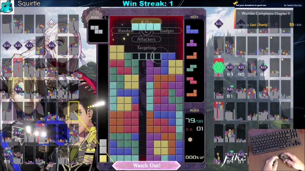 Repeat Tetris 99 Fire Emblem Theme - 2100+ Wins by Wumbotize
