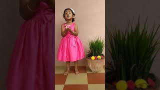 #Baby Dhanishka #KaraAgre Vasate Lakshmi