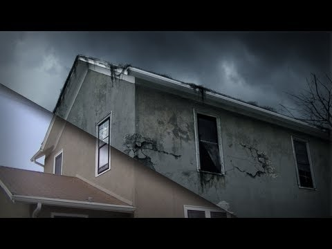 After Effects Tutorial: Compositing Decay into Architectural Footage in After Effects
