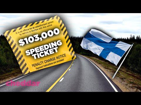 Why Finland Has $100,000 Speeding Fines - Cheddar Explains