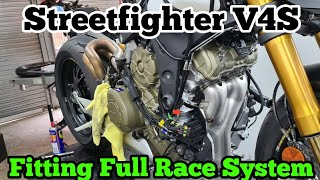 Step by Step : Ducati Streetfighter V4S Full System Fitting