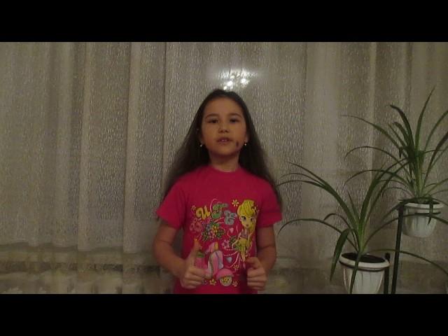 Изображение предпросмотра прочтения – АлинаДосубаева читает произведение «Послушайте! (Послушайте! Ведь, если звезды зажигают…)» В.В.Маяковского