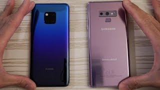 Huawei Mate 20 Pro vs Samsung Note 9 - Speed Test!