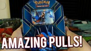 Pokemon Cards - Swampert EX Tin Opening