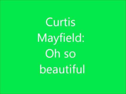 Curtis Mayfield OhSoBeatiful