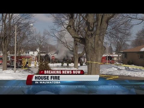 House fire in Wauwatosa