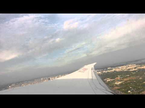 Flight Takeoff from Delhi International Airport, Terminal-3, India