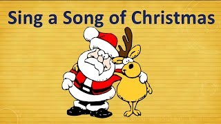 Sing a song of Christmas. Christmas poem. Стихотворение