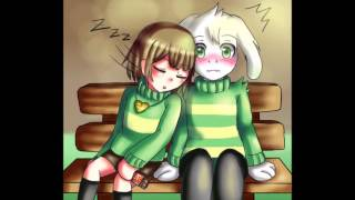 asriel x chara i fell in love with my best friend